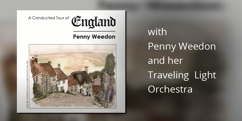 Conducted tour of England - Penny Weedon