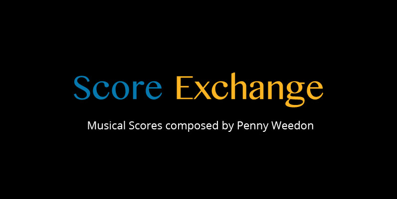 music scores by Penny Weedon